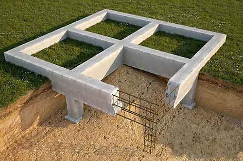 Строительство фундаментов - Уют Строй - срубы домов и бань