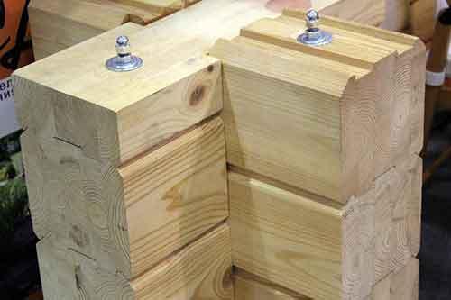 Материал Клееный брус - Уют Строй - срубы домов и бань