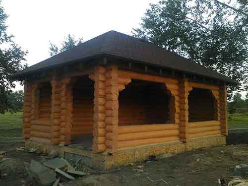 Беседка - Уют Строй - срубы домов и бань