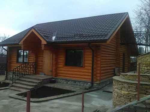 Дом из сруба - Уют Строй - срубы домов и бань