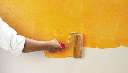 Покрасочные работы - Уют Строй - срубы домов и бань